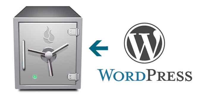 how to take WordPress Backups security