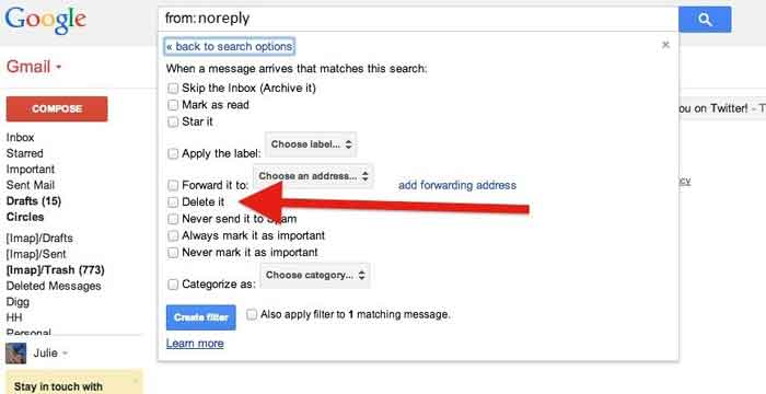 tips to avoid email spam filter