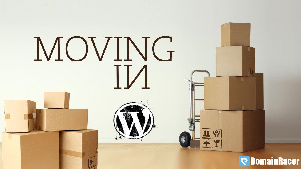 migration wordpress new site